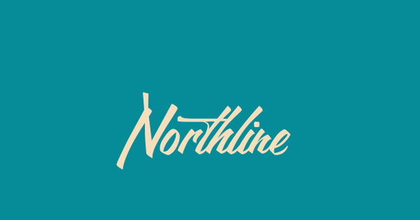 Northline font thumb