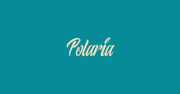 Polaria font thumb