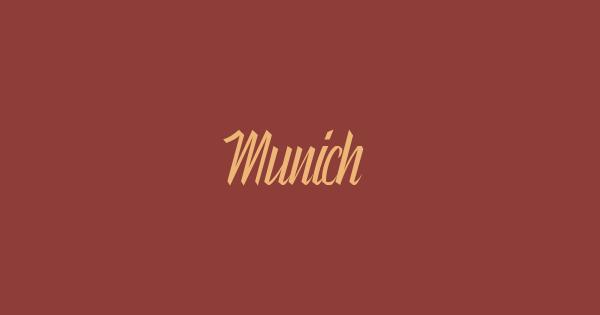 Munich font thumb