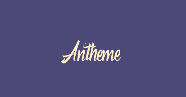 Antheme font thumb