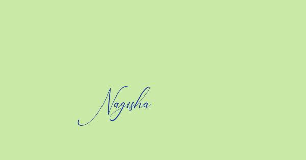 Nagisha font thumb