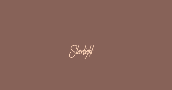 Starlight font thumb