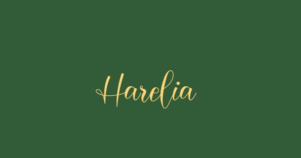 Harelia font thumb