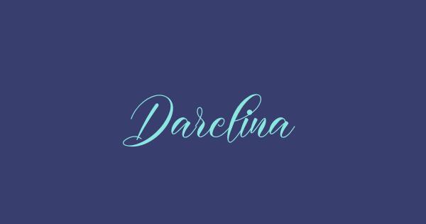 Darelina font thumbnail