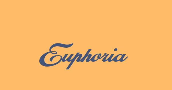 Euphoria font thumb