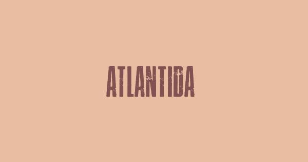 Atlantida font thumb