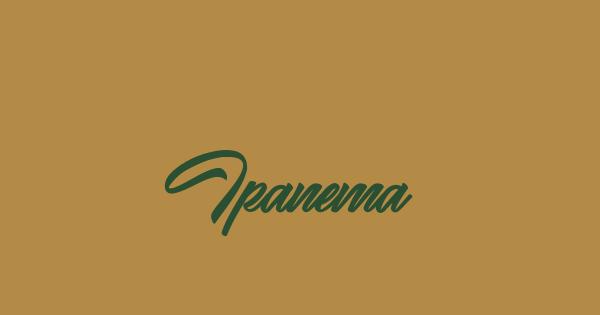 Ipanema font thumbnail