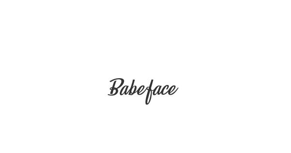 Babeface font thumb