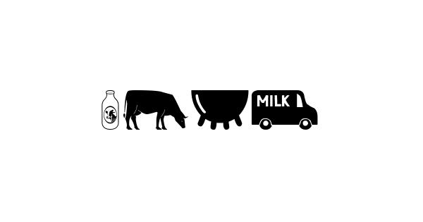 Milk font thumb