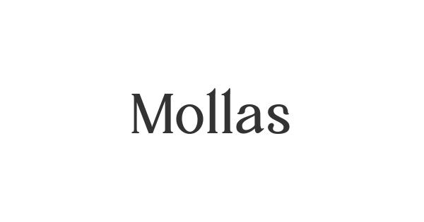 Mollas font thumb