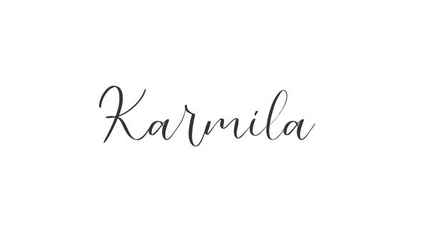 Karmila font thumb