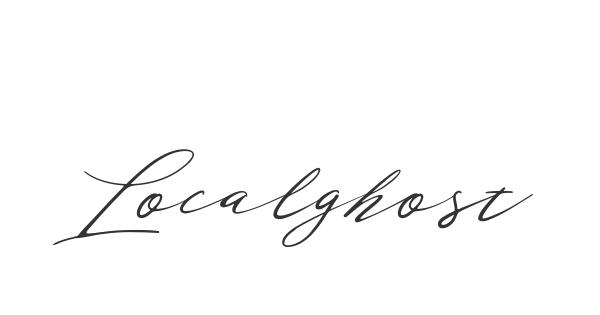 Localghost font thumb