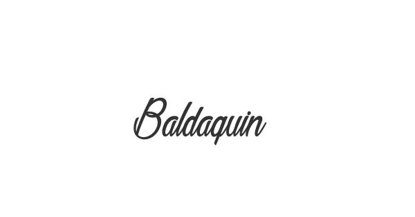Baldaquin font thumb