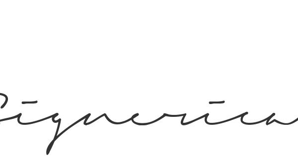 Signerica font thumbnail