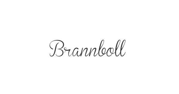 Brannboll font thumbnail