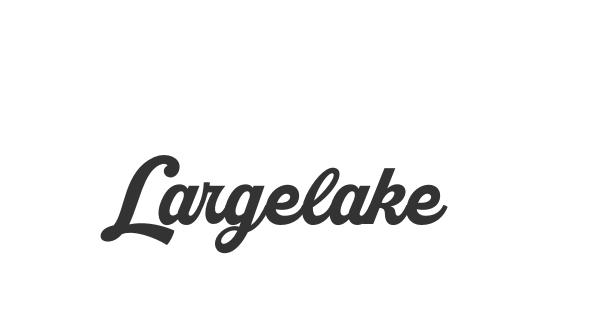 Largelake font thumb