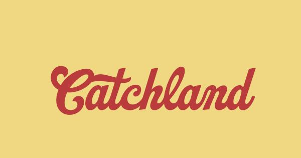 Catchland font thumb