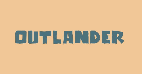 Outlander font thumb