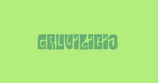 Gruvilicious font thumb