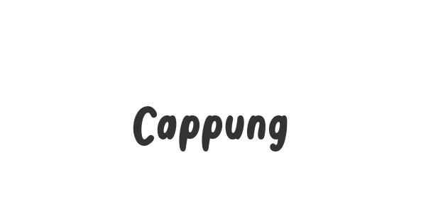 Cappung font thumbnail