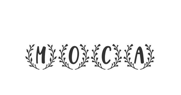 Moca font thumbnail