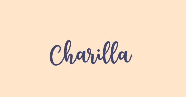 Charilla font thumb