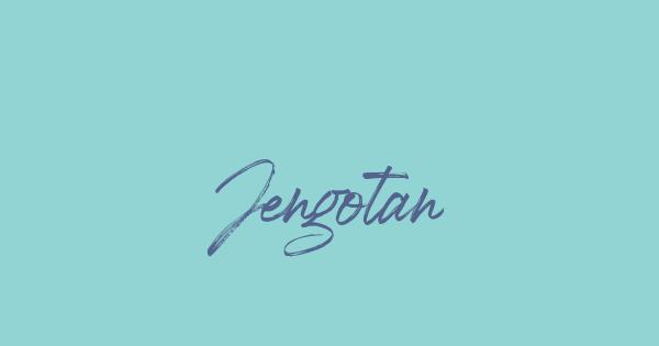 Jengotan font thumb