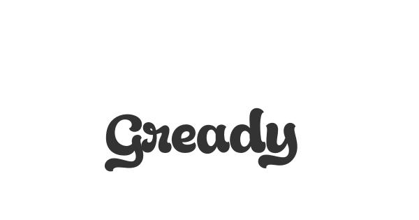 Gready font thumb