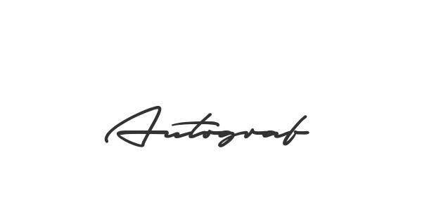 Autograf font thumbnail