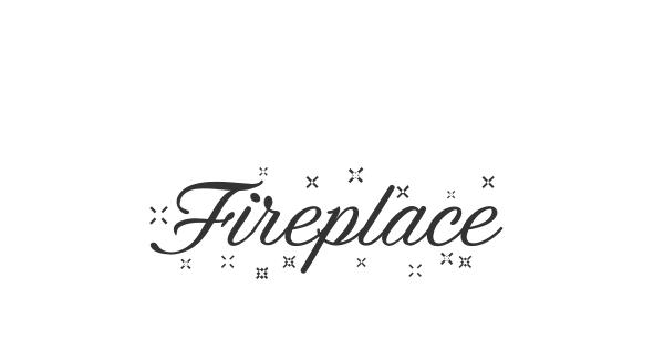 Fireplace font thumb