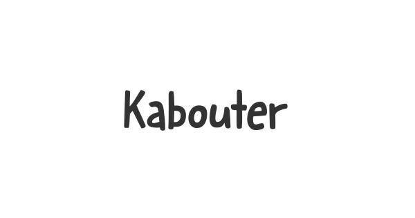 Kabouter font thumb