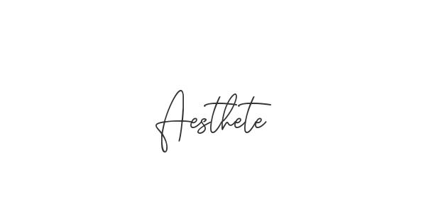 Aesthete font thumbnail