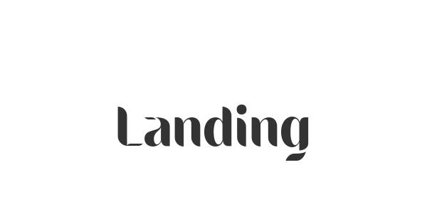Landing font thumb