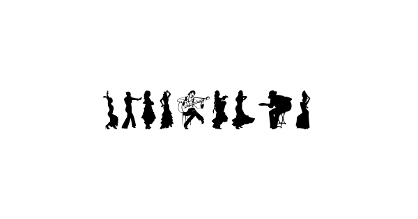 Flamenco font thumbnail