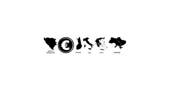 Europe font thumb