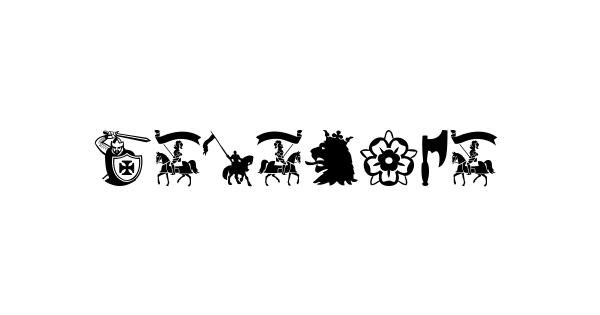 Crusader font thumb