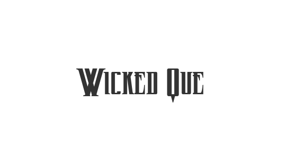 Wicked Queen font thumb