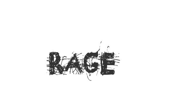 Rage font thumbnail
