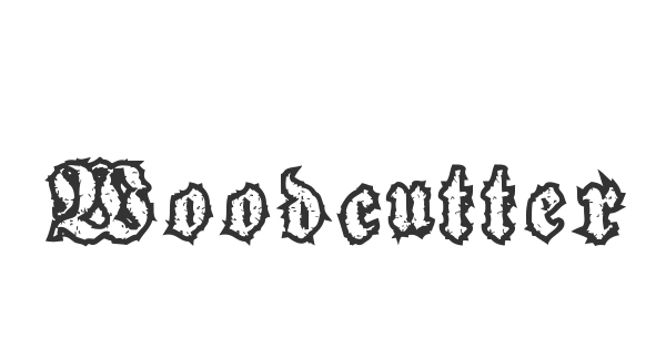 Woodcutter Gothic Drama font thumb