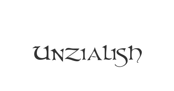 Unzialish font thumb