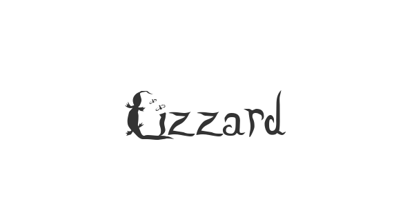 Lizzard font thumbnail