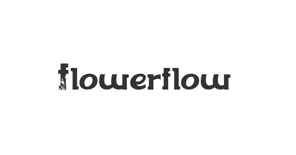 Flowerflow font thumb