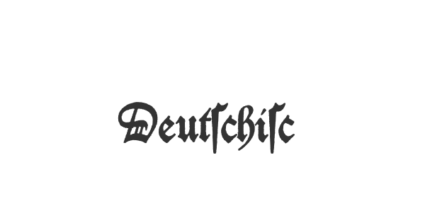 Deutschische font thumbnail