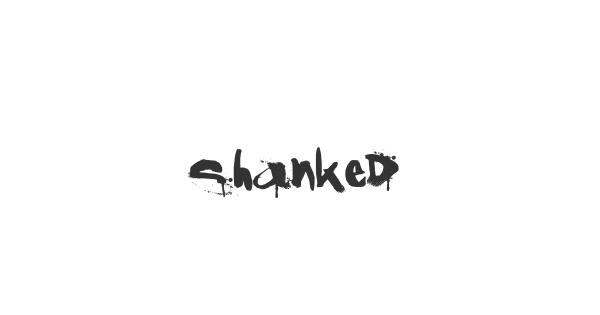 Shanked font thumb