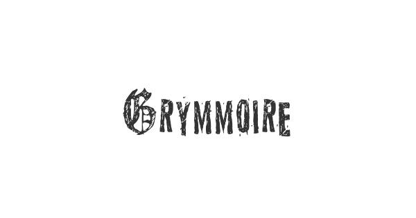 Grymmoire font thumb