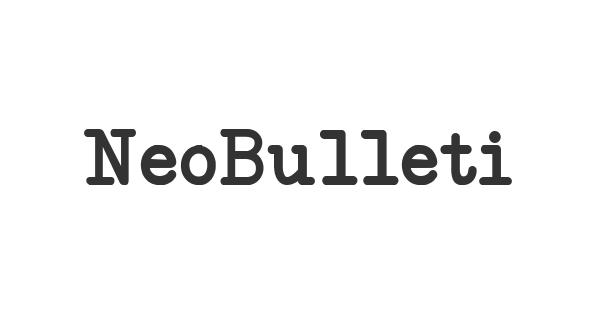NeoBulletin font thumb