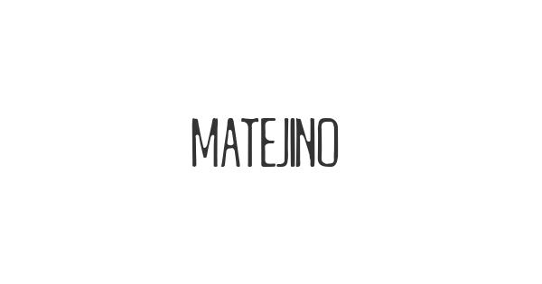 Matejino font thumbnail
