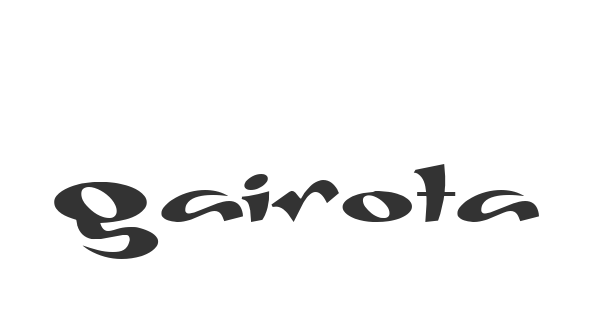 Gaivota font thumbnail