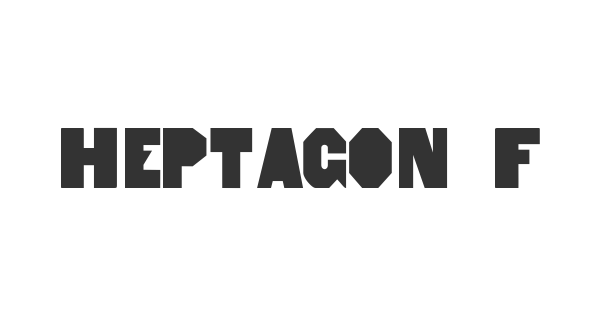 Heptagon French Limited Free Edition Tuscan font thumb