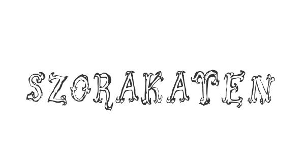 Szorakatenusz font thumb